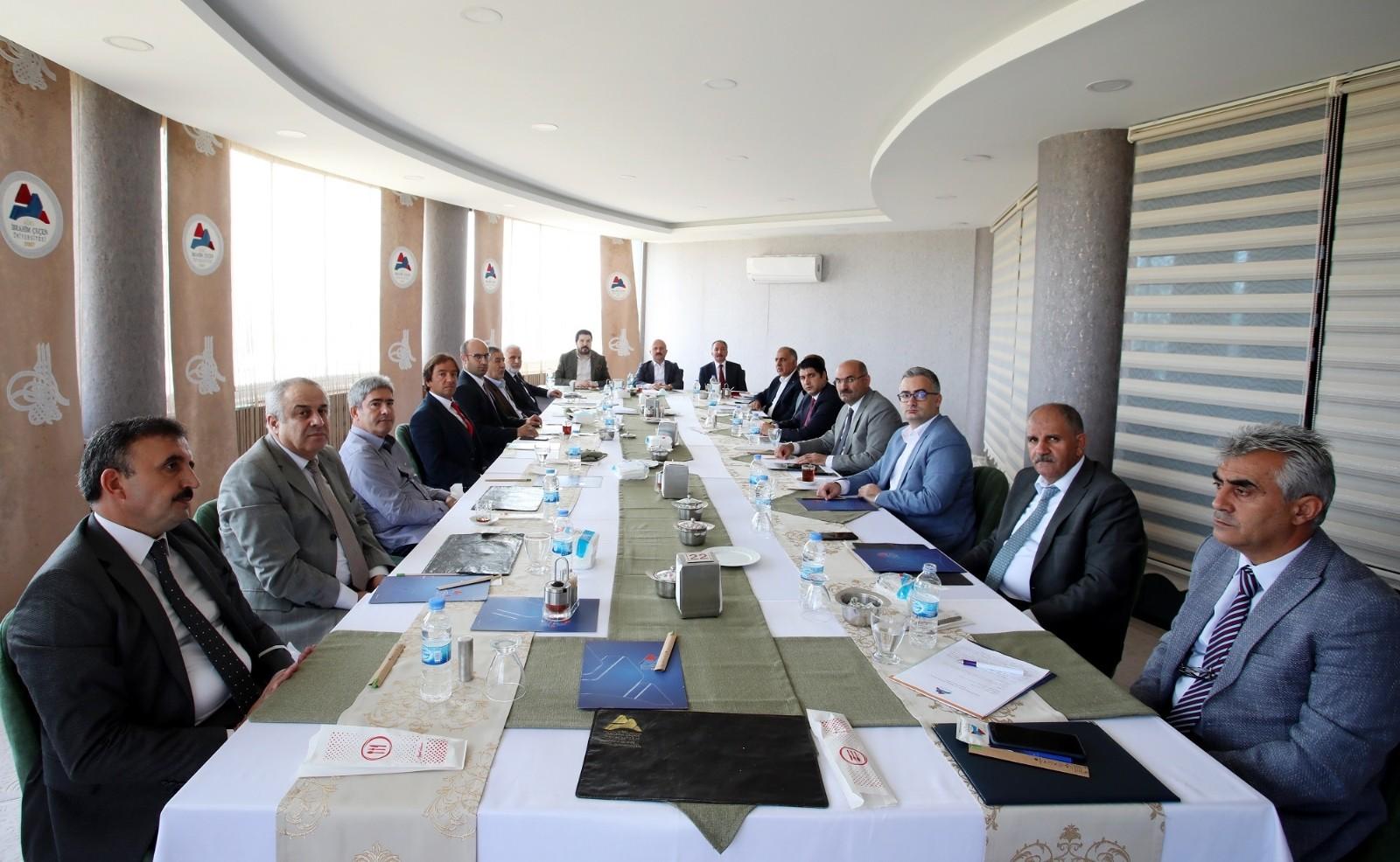AİÇÜ Danışma Kurulu İstişare Toplantısı yapıldı