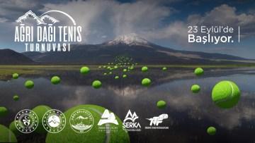 Ağrı Dağı temalı 'Ulusal Tenis Turnuvası' başlıyor