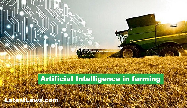 Use of artificial intelligence in farming