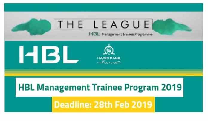 HBL Management Trainee Program 2019 – The League HBL MTO