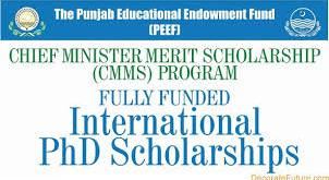 peef-ssms-phd-level-foreign-scholarships-2019-saad-ur-rehman-malik