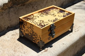 Pyrography Beware Grimm Fairy Tale