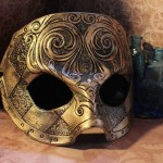 Antique Gold Mask