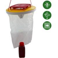 REDTOP® Wespenfalle 3 Liter (1 Falle + 1 Köder/Set)