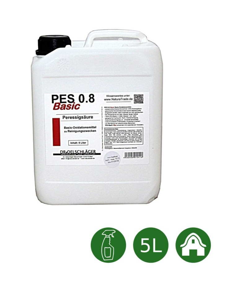Natura Trade PES 0.8 Peressigsäure Basic Plus - 5 Liter