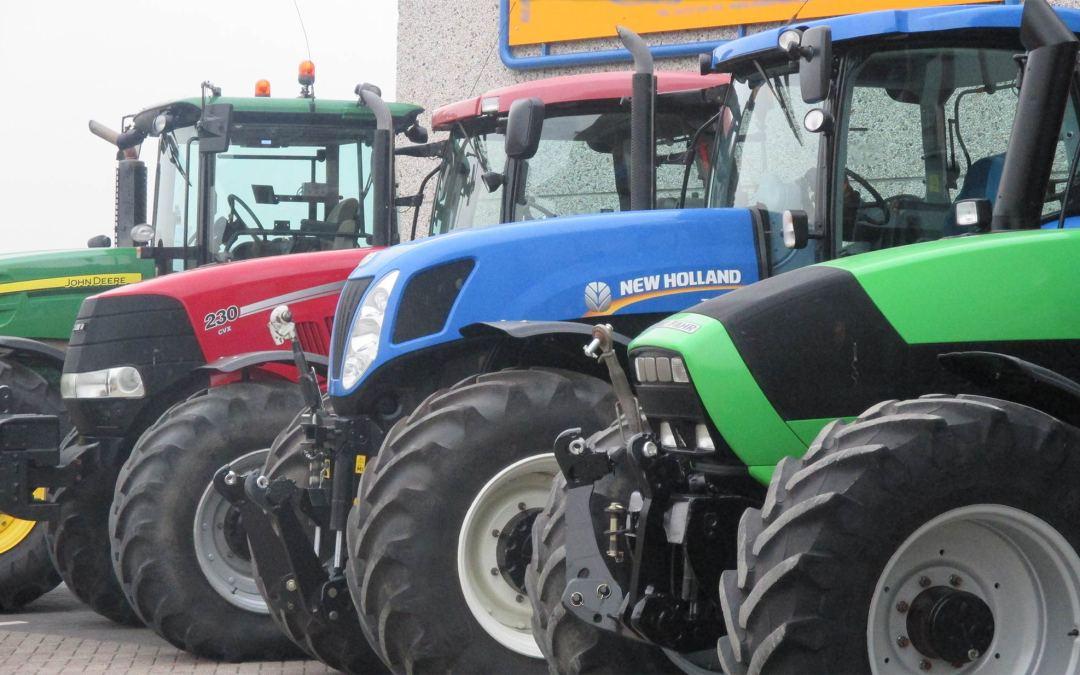 Veel agrariërs hoeven of willen op dit moment niet investeren in een tractor
