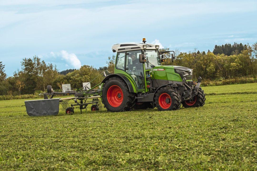 Fendt E100 elektrische tractor