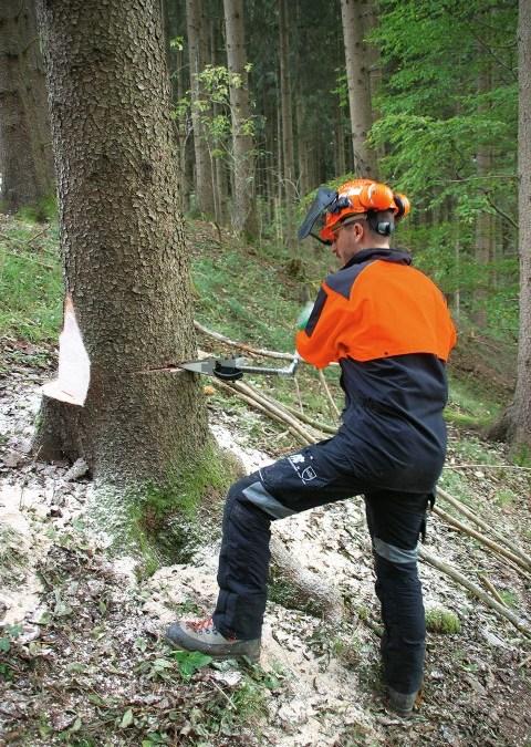 Ax-Men bosbouwers kleding innovaties getest #Werkkleding