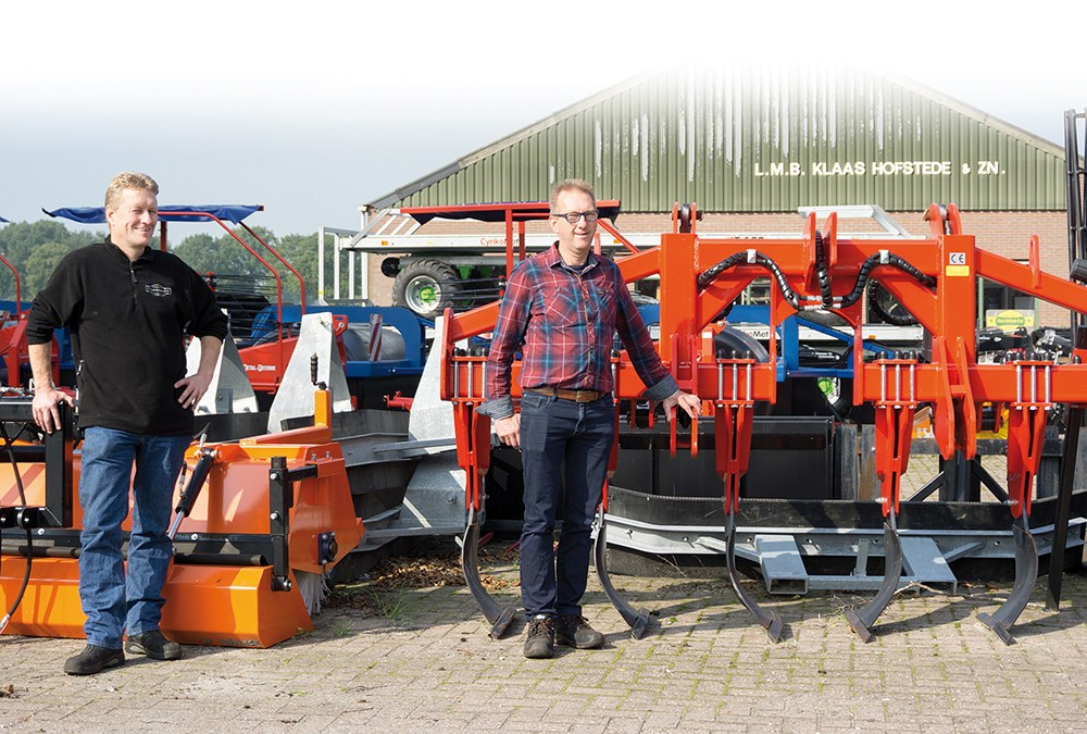 Hier werk ik – Jan & Albert Hofstede – Klaas Hofstede landbouwmechanisatie in Staphorst