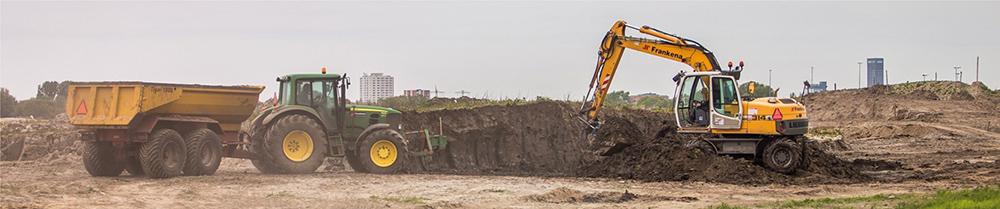 Loon- en grondverzetbedrijf Frankena - Klant van Bos Mechanisatie in Easterein (2)