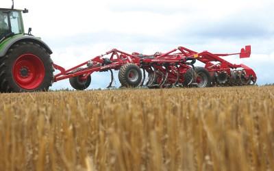 Doorvoer vraagt rijsnelheid bij Horsch Terrano cultivator
