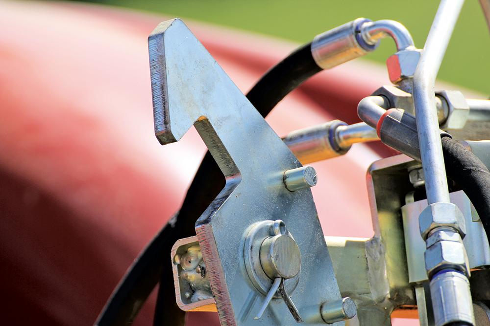 Wallner messenwals WTM 900 - Negen meter op de bagagedrager - Agri Trader Test Jaarboek (3)