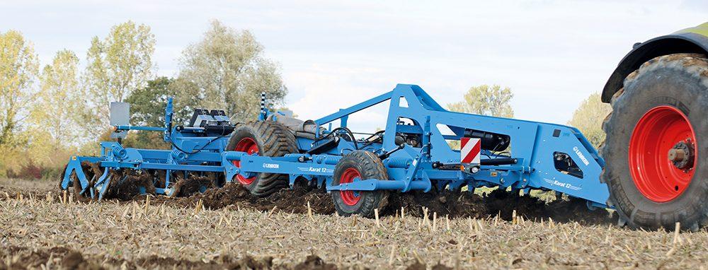 Lemken Karat cultivator - vierbalks zwaargewicht - Agri Trader Test Jaarboek (4)