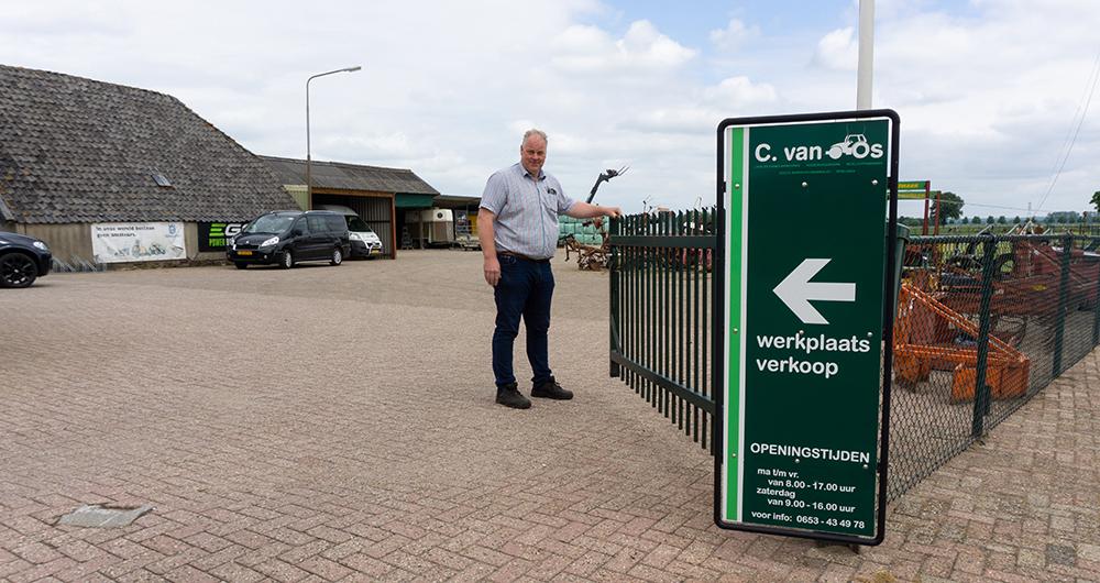 Op de dam bij – Landbouwmechanisatiebedrijf Cornelis van Os