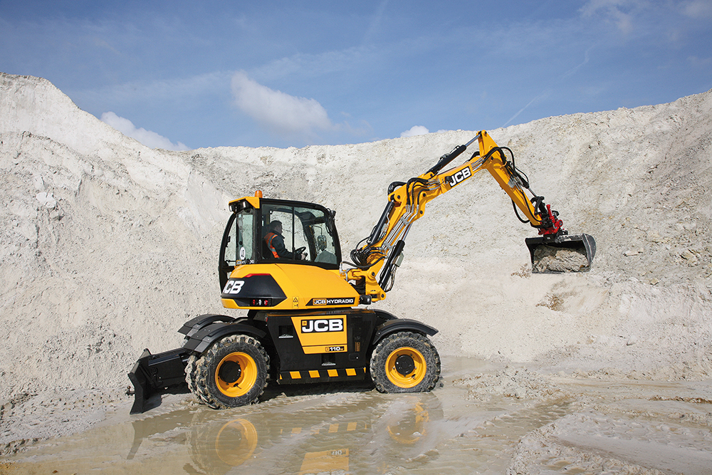 JCB Hydradig – revolutionaire machine getest