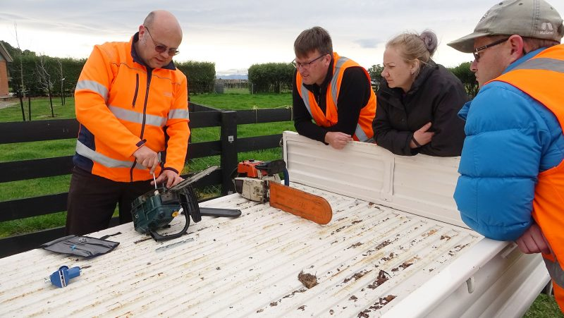 Practical on-farm short course - Chainsaw skills