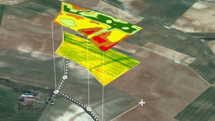 cartographie aérienne pour drone épandeur