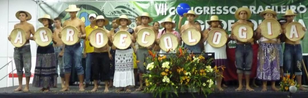 Apresentação do Movimento Sem Terra no VII Congresso Brasileiro de Agroecologia