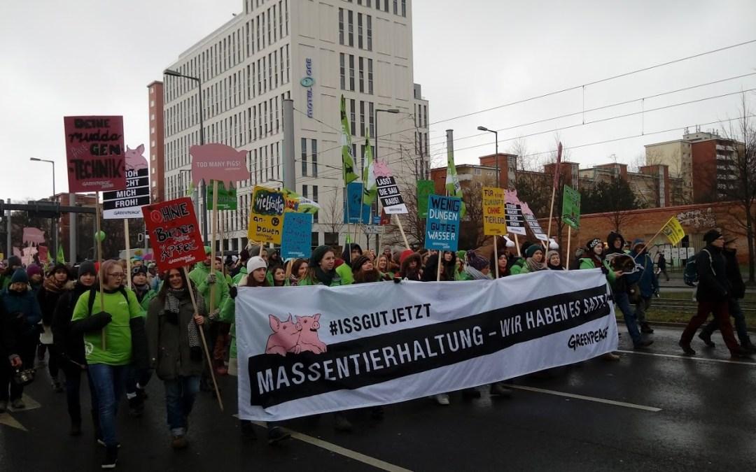Protestos na Alemanha acompanham feira internacional da agroindústria