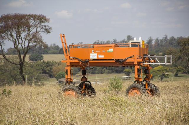 a agricultura precisao robo