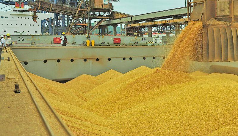 APPA bate em  outubro/2017 recorde na exportação de soja.
