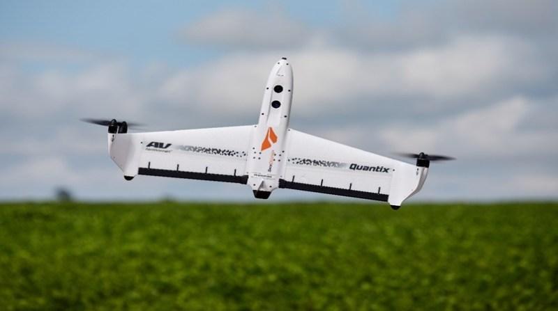 drone quantix medida certa