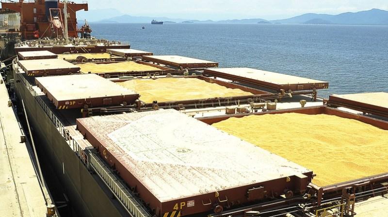 soja porto exportar