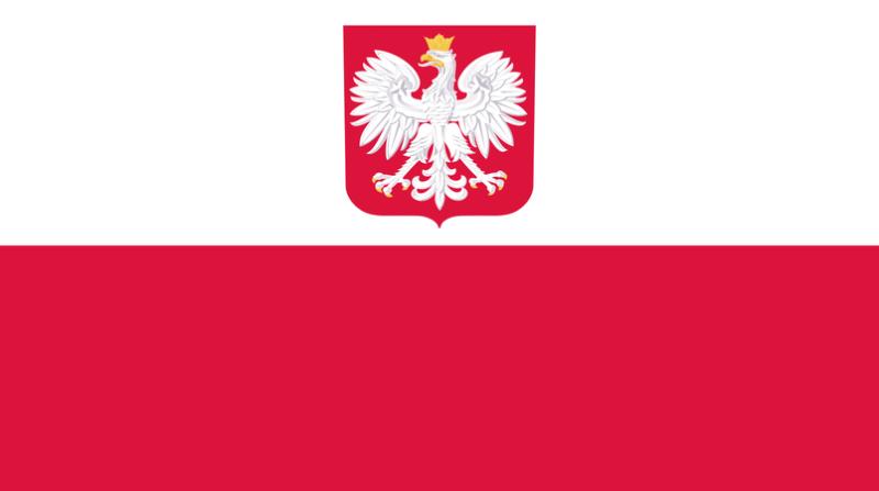 bandeira-da-polonia-com-brasao