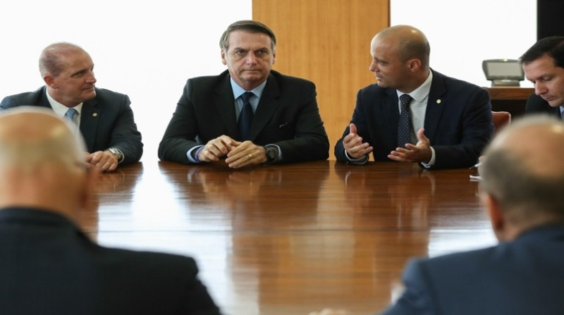 bolsonaro reuniao 4 produtores palacio do planalto