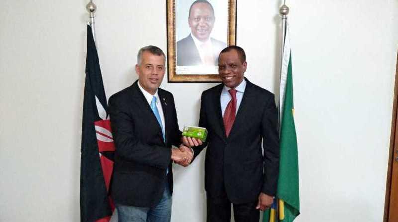 evair e embaixador do quenia no brasil