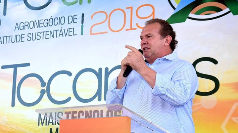 Governador Carlesse abreGovernador Mauro Carlesse 19ª Feira de Tecnologia Agropecuária do Tocantins - Esequias AraujoGoverno do Tocantins