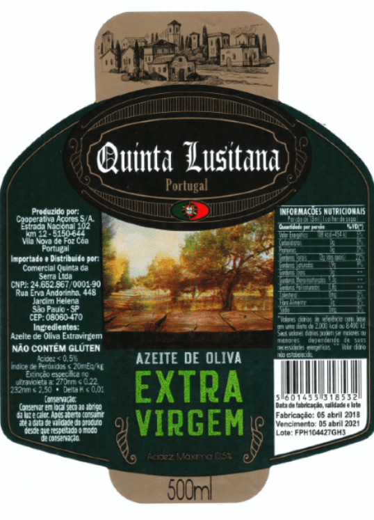 azeite de oliveira fraude quinta lusitanas carlos silva mapa