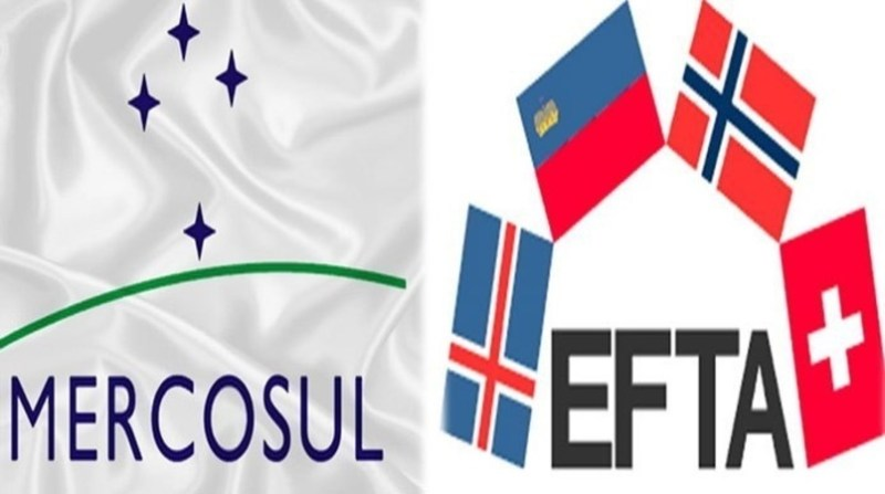 bandeiras Mercosul EFTA