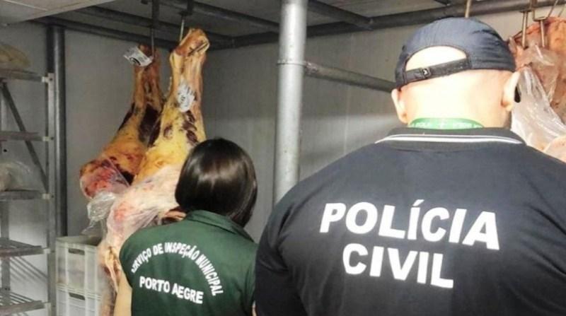 carne clandestina policia civil rs