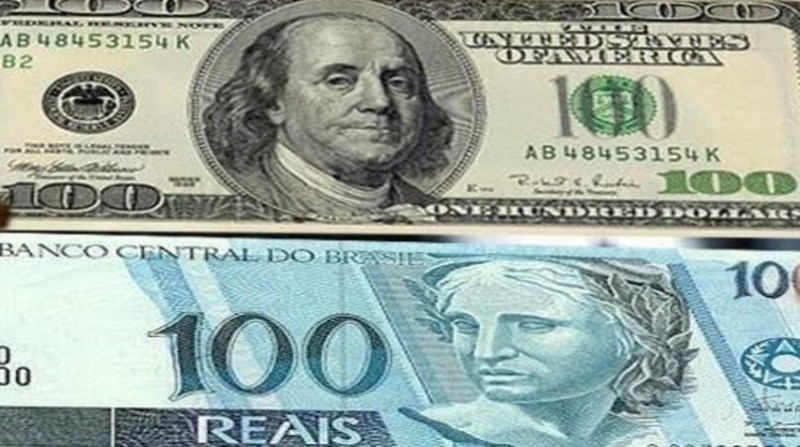 dolar real divulcao