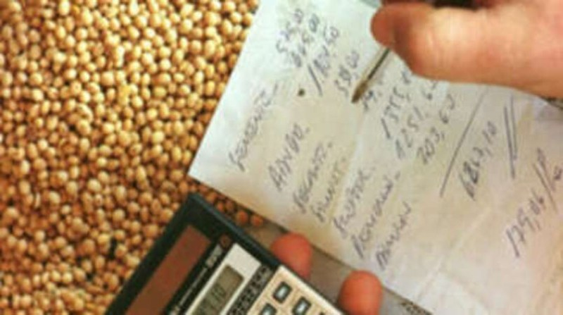produtor rural dívidas maquina de calcular divulgacao