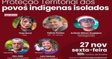Cimi promove live sobre proteção territorial dos povos indígenas isolados
