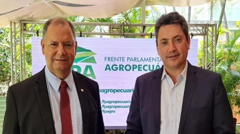 SÉRGIO SOUZA É ELEITO PRESIDENTE DA FRENTE PARLAMENTAR DA AGROPECUÁRIA.