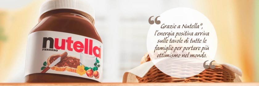 Brand Agroalimentare esempio Nutella