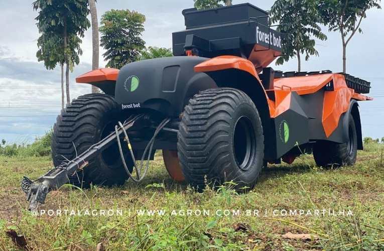 Máquina de plantar floresta é desenvolvida por brasileiro