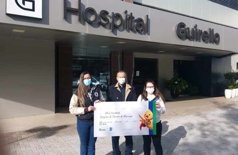 CEVA Aves entrega arrecadação da campanha #SolidariedadeIBras para Hospital do Câncer de Maringá