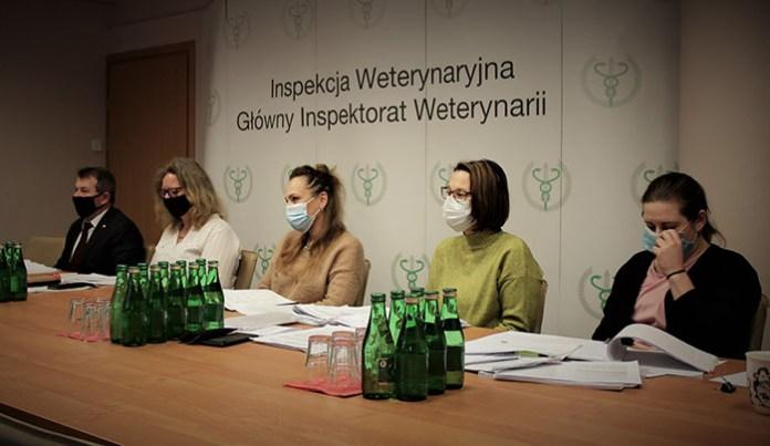 Wideokonferencja z Granicznymi Lekarzami Weterynarii