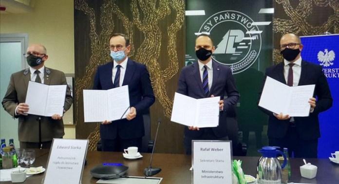 LP i GDDKiA podpisały porozumienie w sprawie wykorzystania wód opadowych