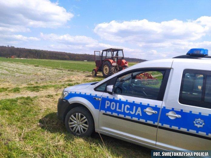 Ukradł sąsiadowi ciągnik by zaorać swoje pole