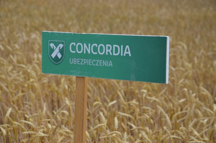 Concordia, Grupa Generali, Concordia Ubezpieczenia, ubezpieczenia upraw, uprawy
