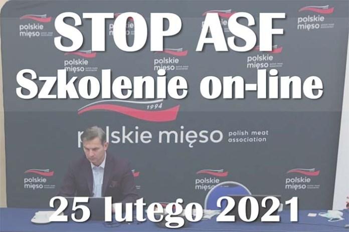 """""""Stop ASF"""" Zaproszenie na szkolenie online"""