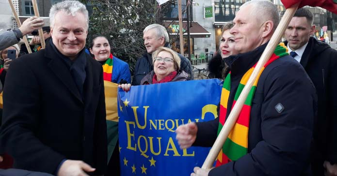protest rolników w Brukseli