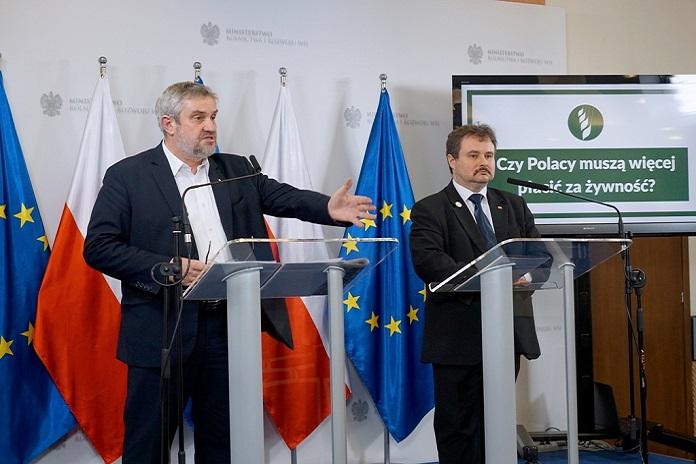 rolnik, rolnictwo, wzrost cen żywności, portal rolny, MRiRW, Jan Krzysztof Ardanowski,