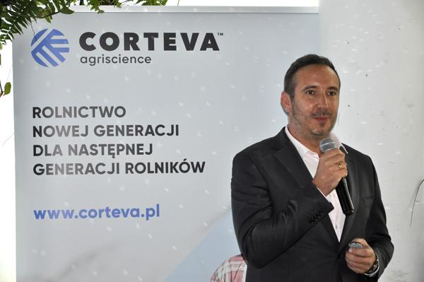 Paweł Trawiński, kierownik sprzedaży nasion w Corteva Agriscience w Polsce.