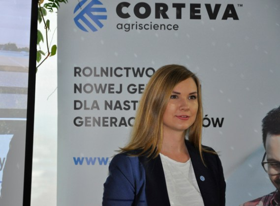 Anna Babich, Corporate Communications Manager in Central and Eastern Europe w Corteva Agriscience
